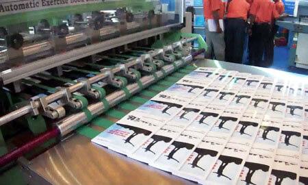 Exercise Book Binding Machine