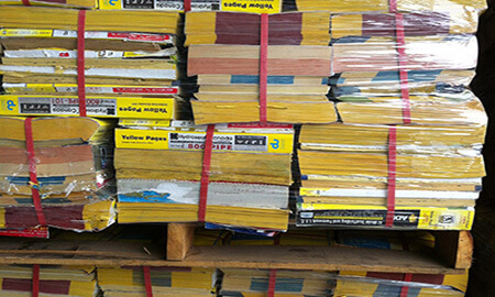 Old Yellow Page Stock/Book Stock