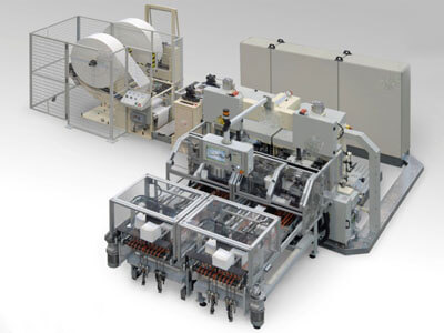 Tissue Converting Machine