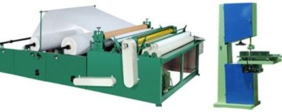 Toilet Tissue Converting Machine