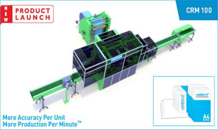Folio Size Ream Wrapping Machine