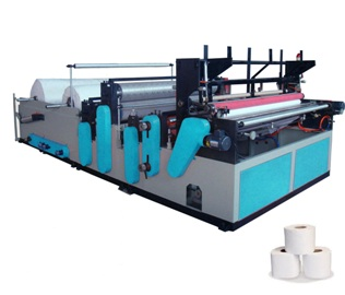Toilet Tissue Converting Machine