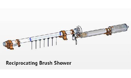 Yankee spary shower